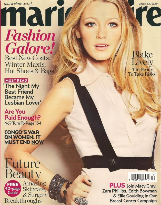 Marie Claire Front Cover Unwatchable 001